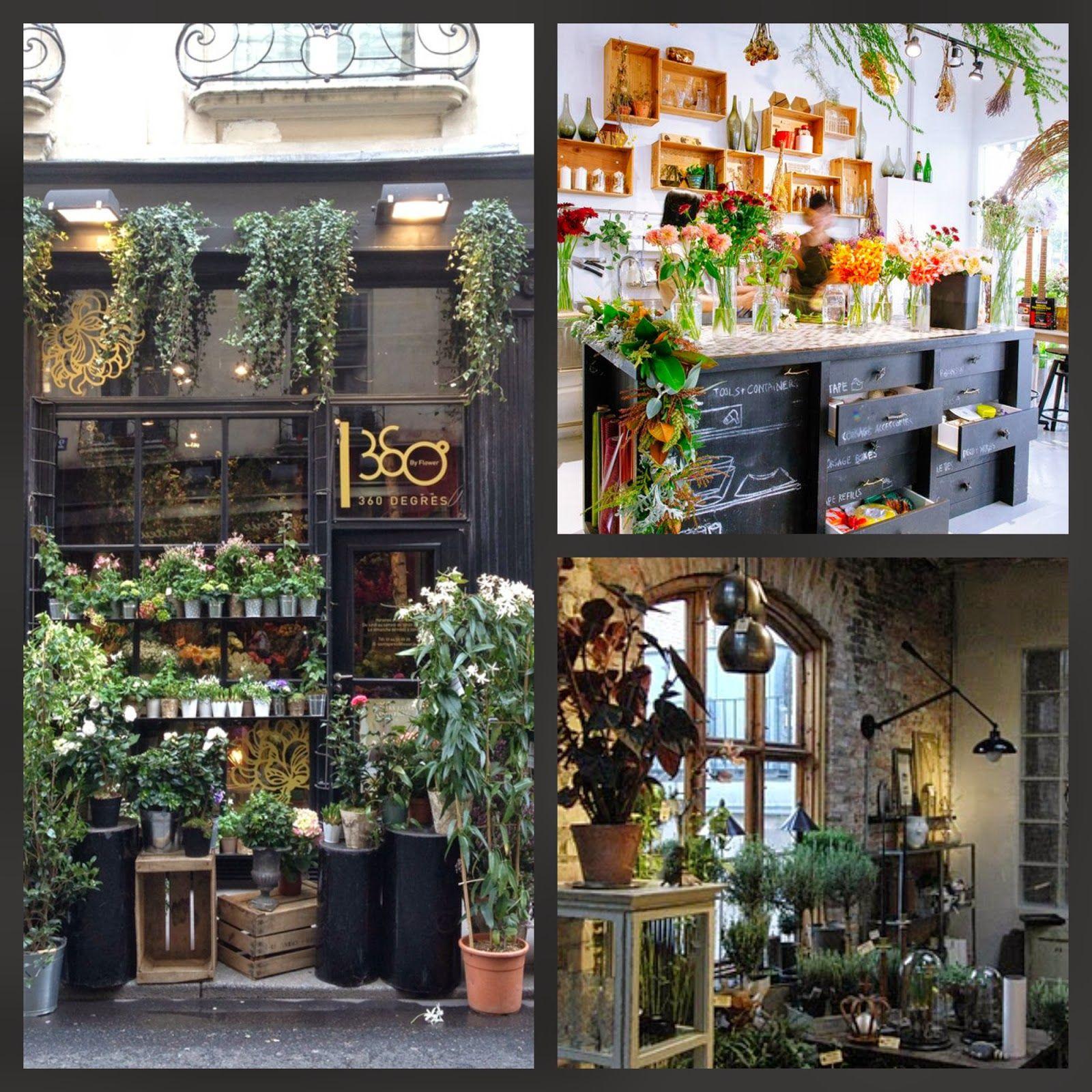 Where Do Interior Designers Shop: Inside A Flower Shop, Modern
