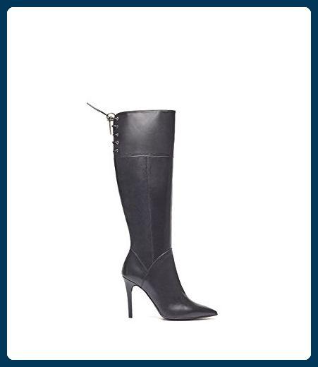 PoiLei Elsa Damen Schuhe klassischer Langschaft Stiefel