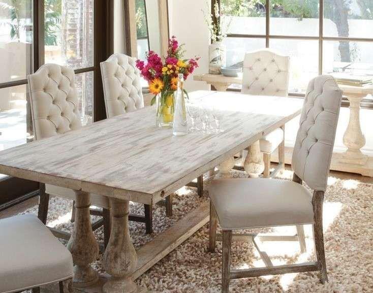 Tavoli in legno grezzo - Tavolo quadrato in legno grezzo | Shabby