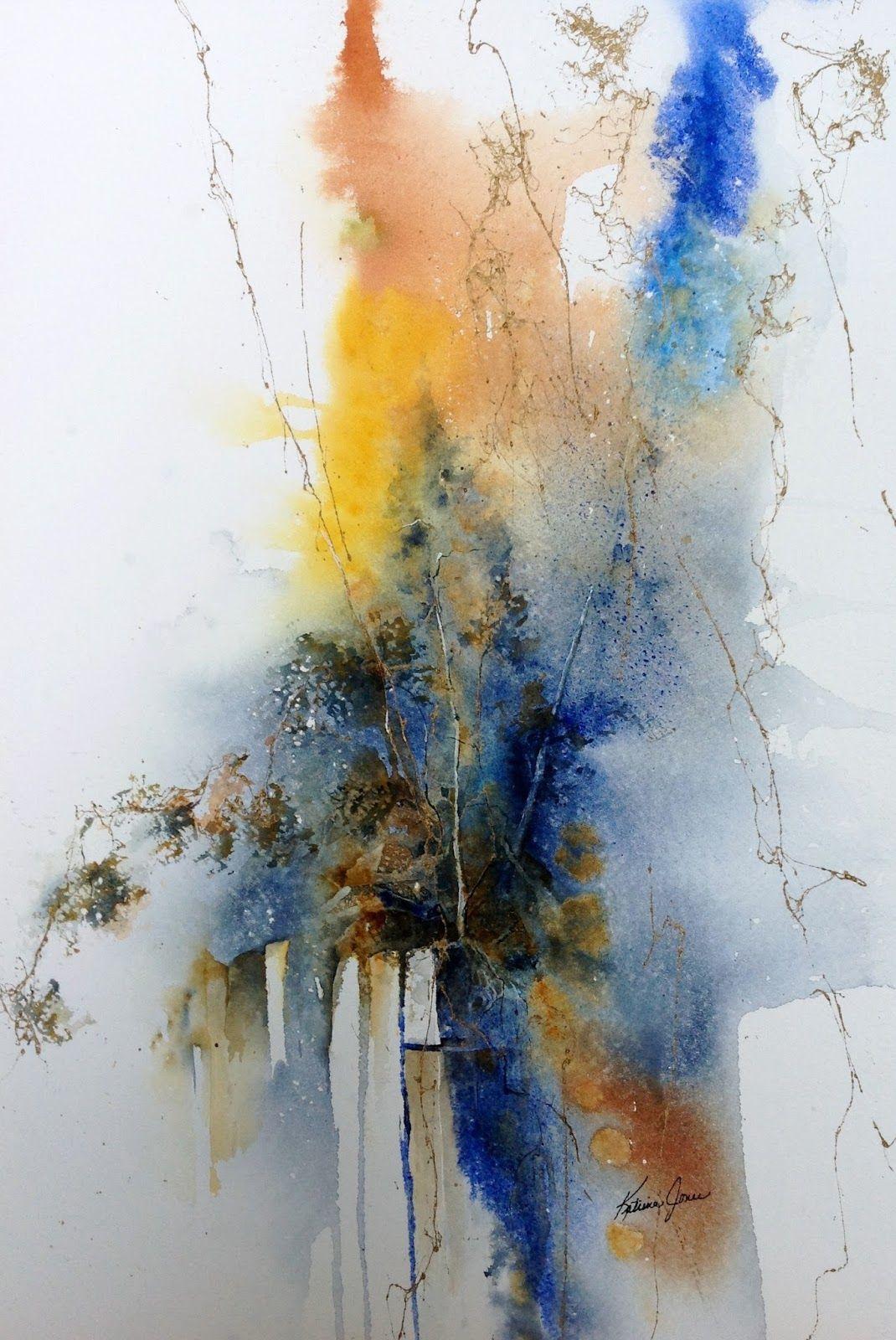 And So I Paint | Aquarelle abstraite, Peinture abstraite, Toile abstraite
