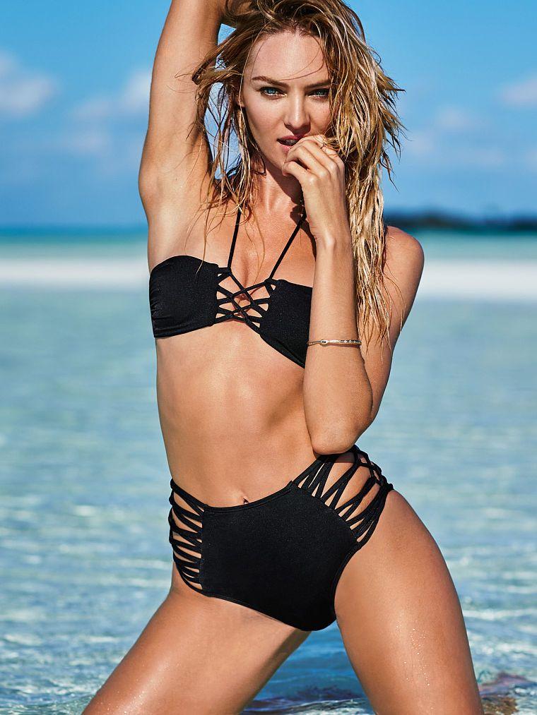dde42046b60c5 Strappy High-waist Bikini Bottom - Very Sexy - Victoria s Secret - Candice  Swanepoel