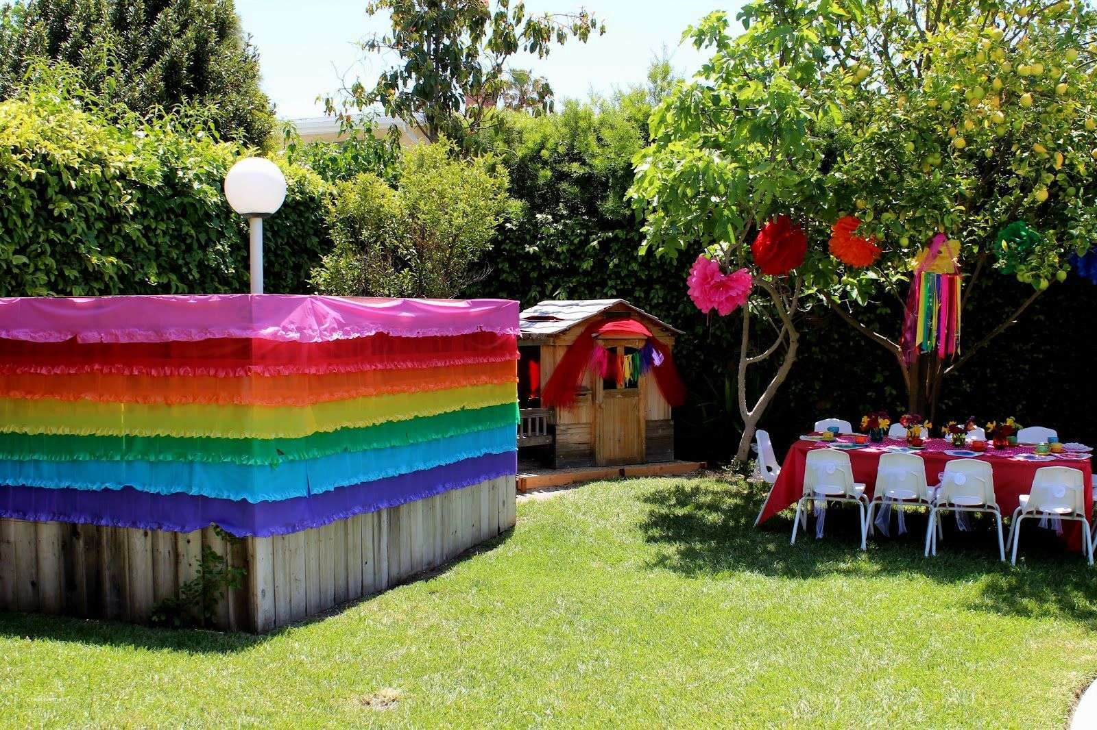 Outdoor Birthday Party Decoration Ideas New For Theme