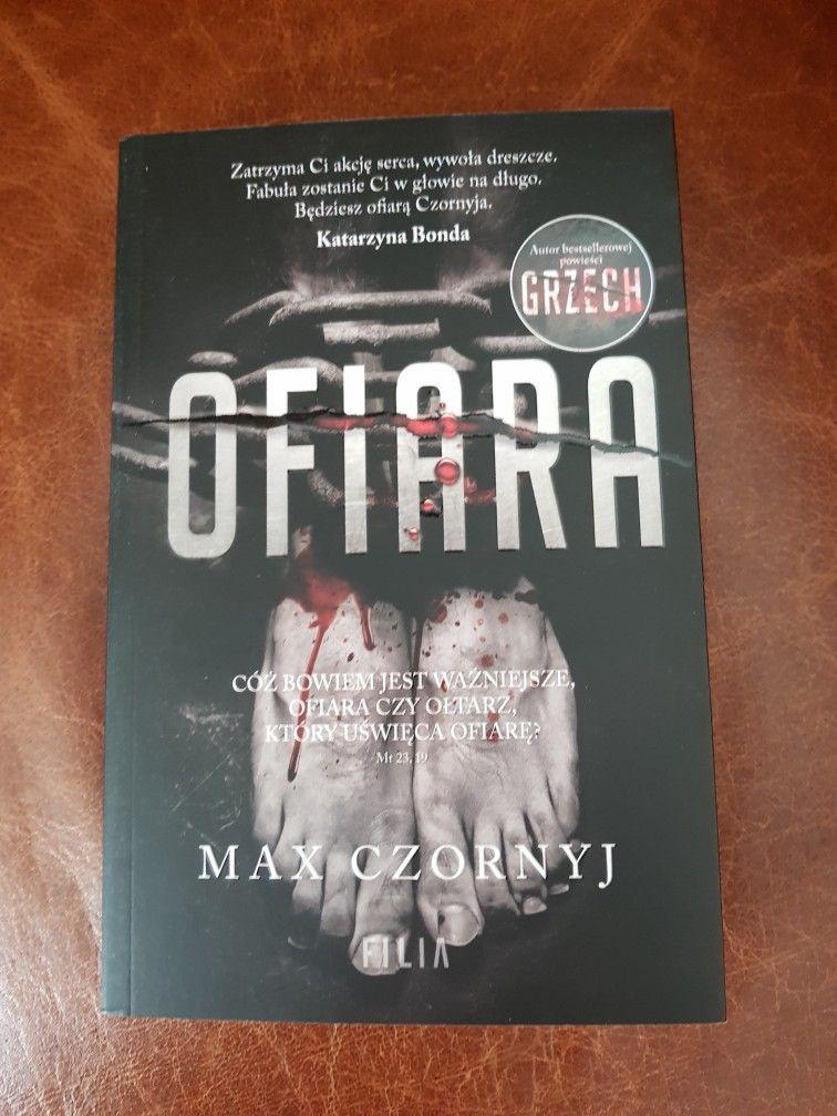 Max Czornyj Ofiara Book Cover Max Books