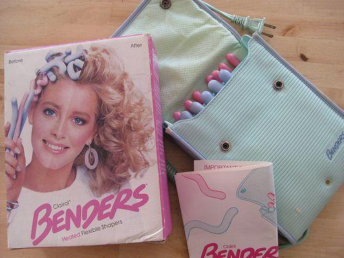 Benders Rollers Facebook Image Vintage Clairol Pouch Hotcurlers Hot