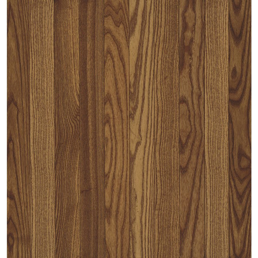 Bruce Frisco 3 25 In W Prefinished Oak Hardwood Flooring Gunstock Solid Hardwood Floors Hardwood Oak Hardwood