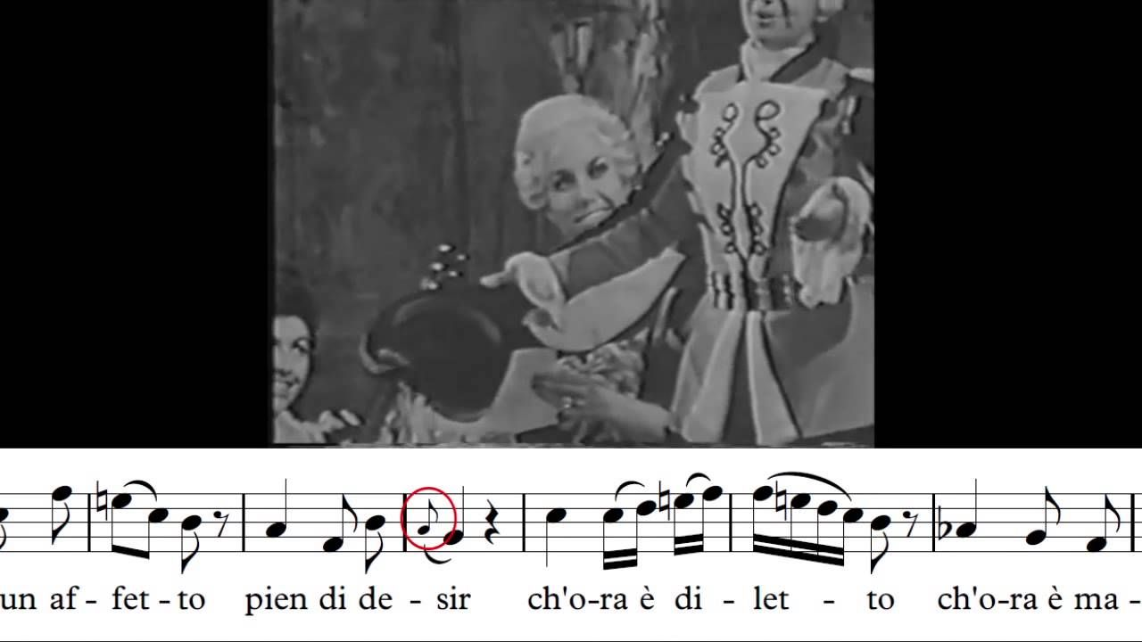 Teresa Berganza Voi Che Sapete Le Nozze Di Figaro W A Mozart