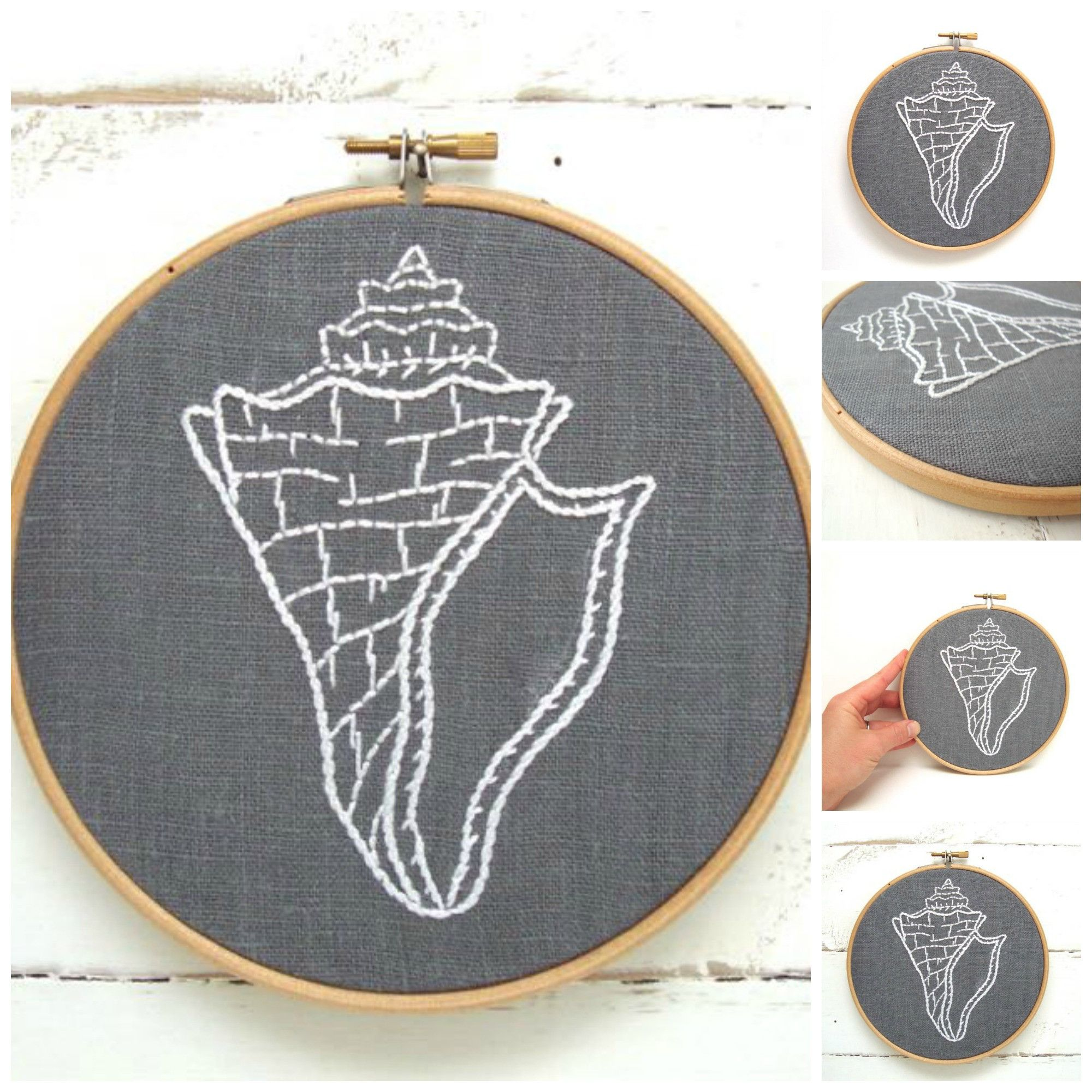 Diy embroidery hoop art kit stitch your way to bliss with this