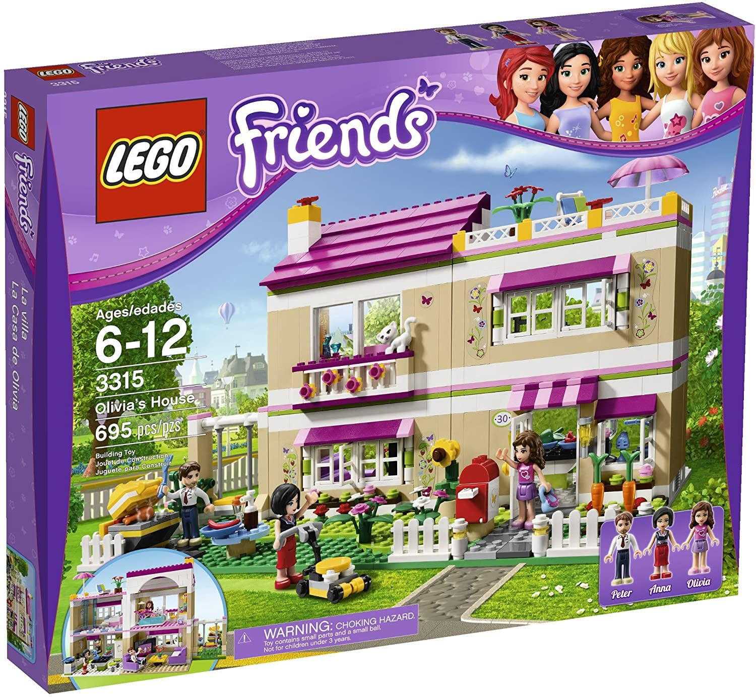 Lego Friends Olivias House 3315 Discontinued By Lego Friends Sets Lego Friends Building Toys