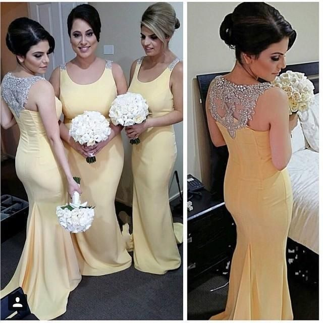 Copy of yellow bridesmaid dress,long bridesmaid dress,mermaid bridesmaid dress,2016 bridesmaid dress,BD1615