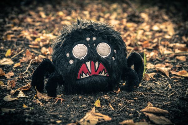"Creeping from the shadows comes the Don't Starve Hissing Spider plush. Featuring a removable voice box that when pressed plays 1 of 4 spider hissing sounds pulled from the game's audio. This creepy crawler also includes wire reinforced legs that can be posed. Hissing Spider Plush FeaturesDimensions: 6"" tall x 9.0"" wideMakes 4 hissing sounds when squeezed!Removable voice box.Long shaggy plush fur body & Microplush legs.Stylable / combable body hair.Bendable / poseable wire reinforced…"