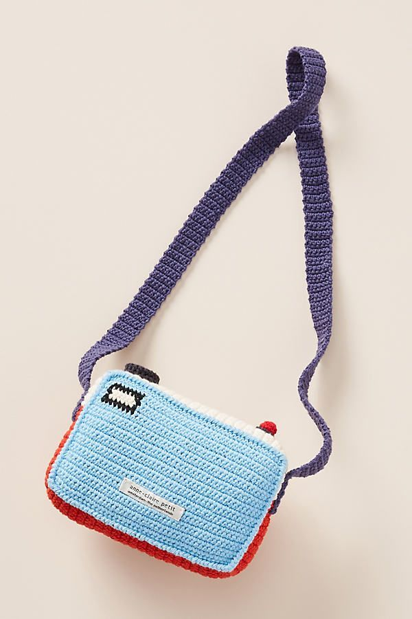 Crocheted Camera by Anne-Claire Petit in Red, Kids at Anthropologie #crochetcamera Crocheted Camera by Anne-Claire Petit in Red, Kids at Anthropologie #crochetcamera
