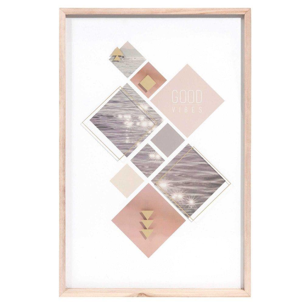 Gemälde aus Holz 40 x 60 cm SEA VIBES   Home Sweet Home   Pinterest ...