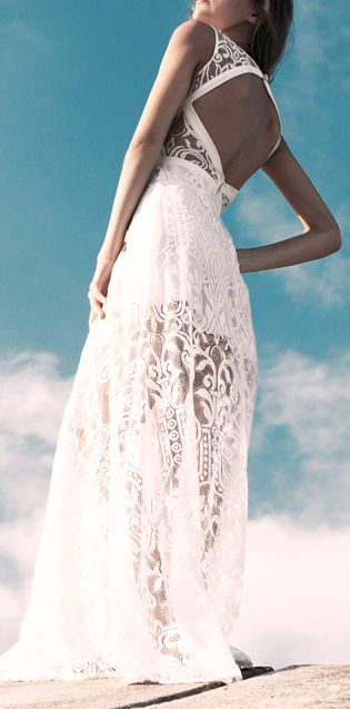 Lace maxi | Style | Pinterest | Lace maxi, Clothes and Summer