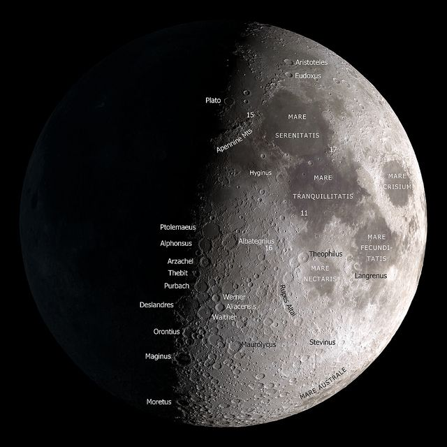 Moon Map News of the World