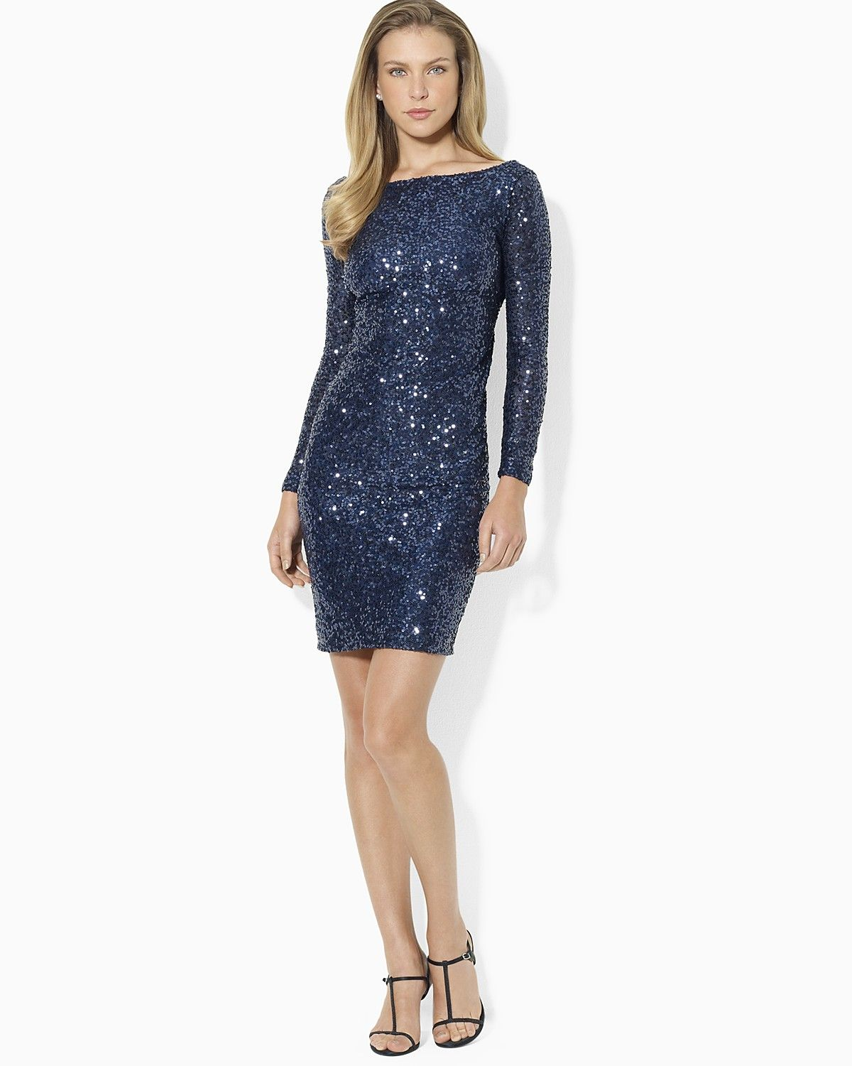 1000  images about Sequin Cocktail Dress on Pinterest - Ralph ...