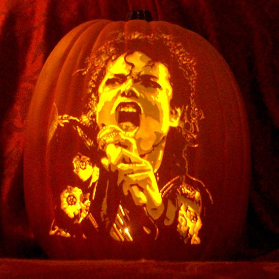 Michael Jackson pumpkin | Michael Jackson | Pumpkin carving