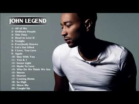 Best Songs of John Legend - John Legend greatest hits full