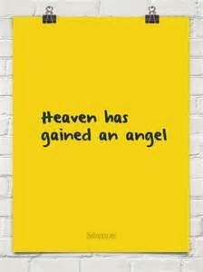 Heaven Gained An Angel Quotes Bing Images God Is An Awesome God