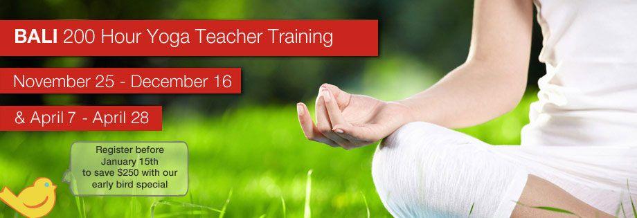 April candidasa yoga teacher training teacher training