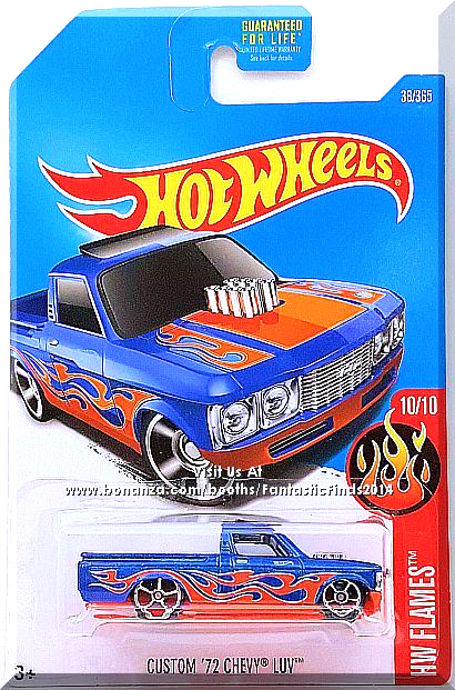 Hot Wheels Custom 72 Chevy Luv Hw Flames 10 10 36 365