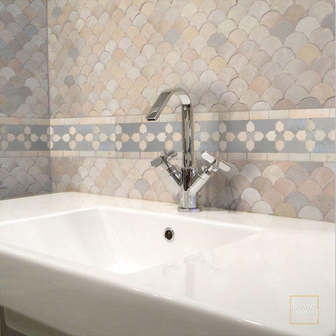 kmarshoun c 17-1 mosaic house mosaic border tile   home decor,