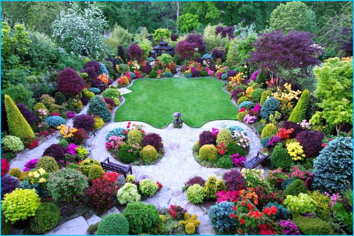 Beautiful flower garden of the world images with images
