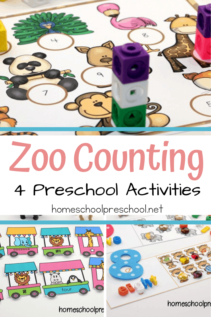 Zoo Counting Activities Animal Activities For Kids Zoo Activities Preschool Zoo Animals Preschool Activities [ 1102 x 735 Pixel ]