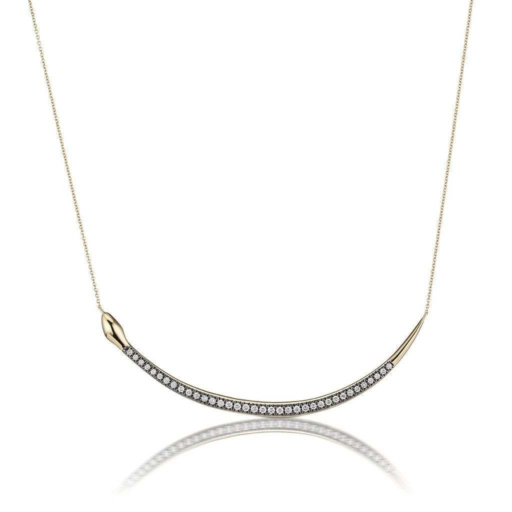 18k Collier De Diamants D'or Sorellina 3gW6wo
