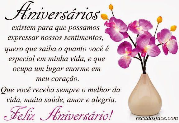 Pin De Neuba Lobo Em Moda Happy Birthday Birthday Messages E Birthday