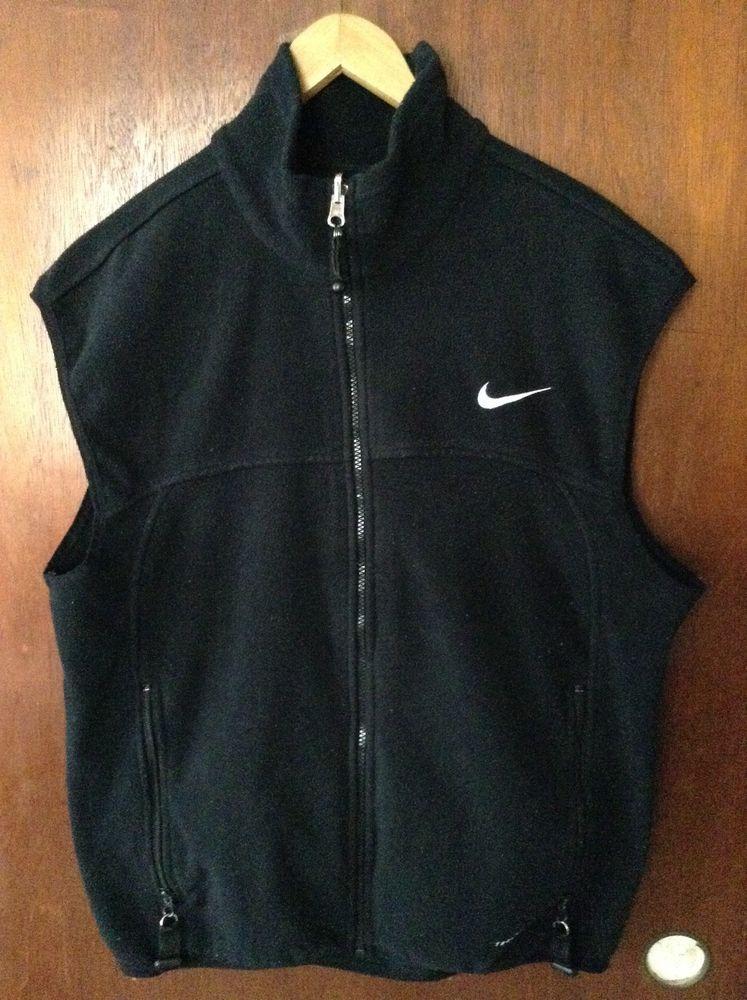Fácil Perímetro nativo  Nike ACG Thermal Fleece Vest Black - Size Medium M Thermal Layer 2 ...