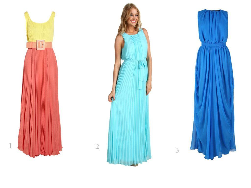 maxi dress for beach wedding | Bridesmaid Dresses and Ideas ...
