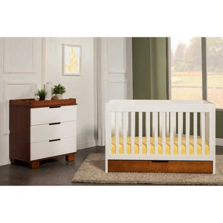 Exceptional Baby Mod   ParkLane 3 In 1 Baby Convertible Crib, Amber And White