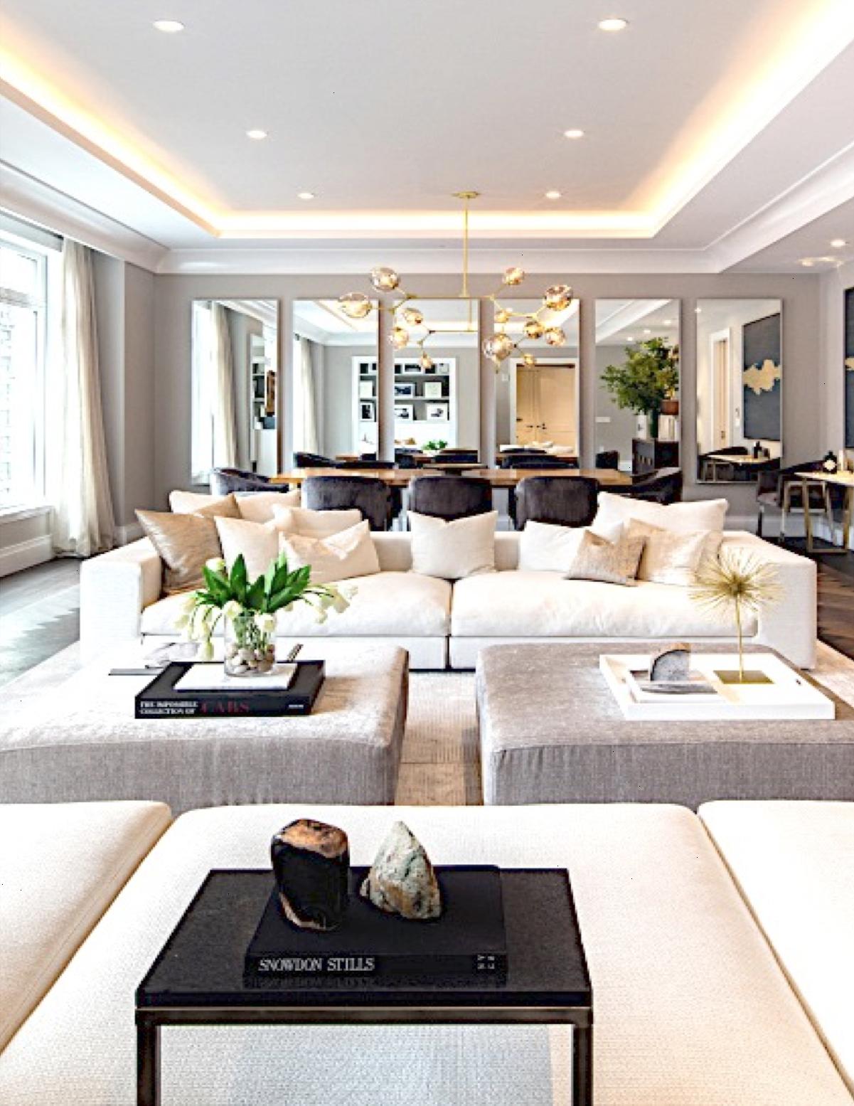 Usa Contemporary Home Decor And Mid Century Modern Lighting Ideas From Delightfull Visi Luxury Living Room Modern Interior Design Contemporary Home Decor