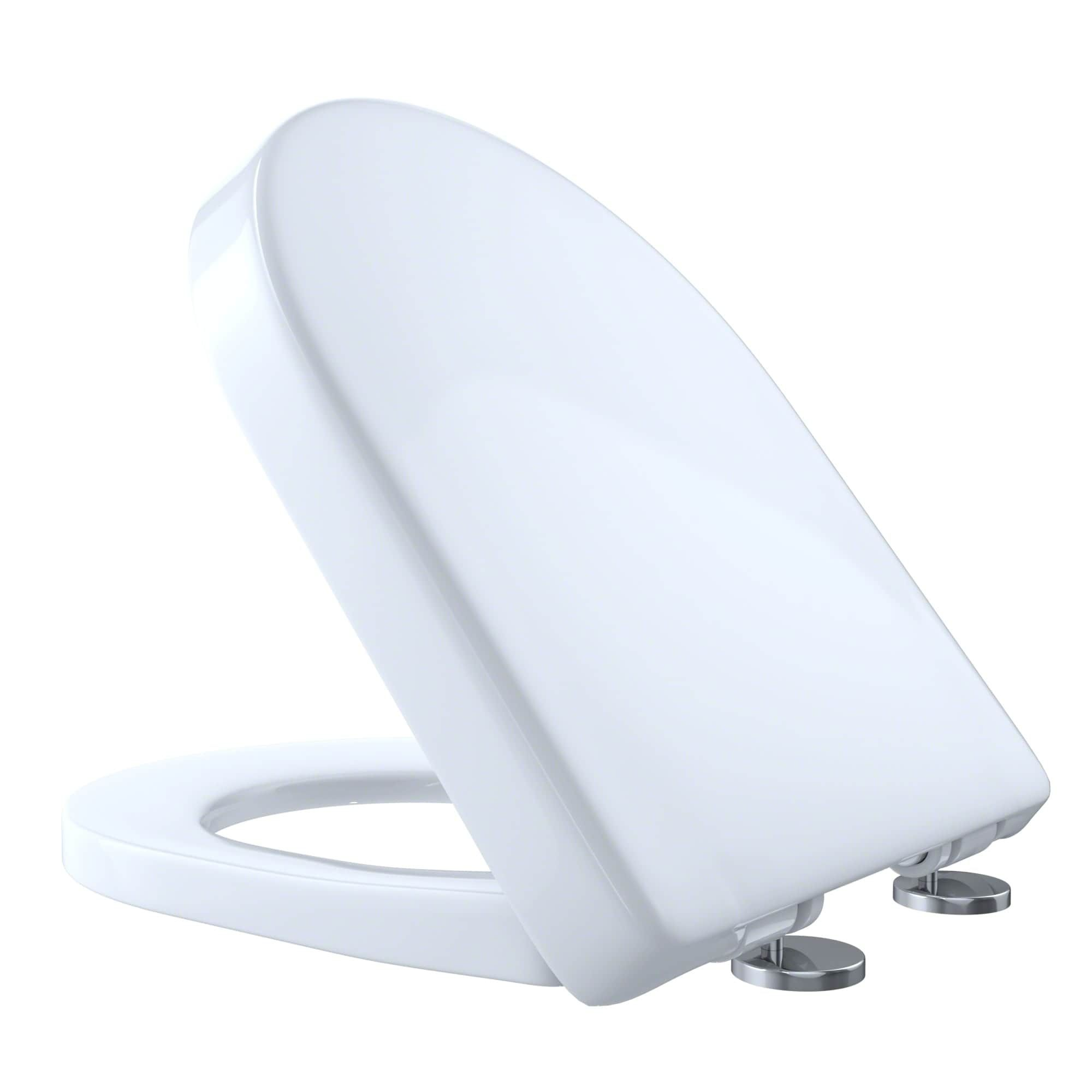 Toto D-Shaped SoftClose Toilet Seat SS117#01 Cotton, White | Toilet ...