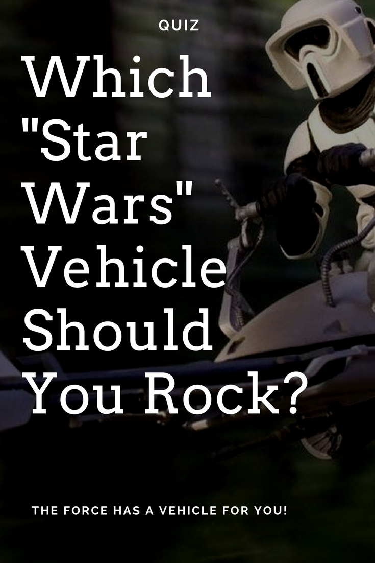 The Star Wars Franchise Has Some Of The Coolest Vehicles In Any Galaxy Whether You Enjoy Space Style Do Star Wars Quizzes Star Wars Vehicles Star Wars Facts