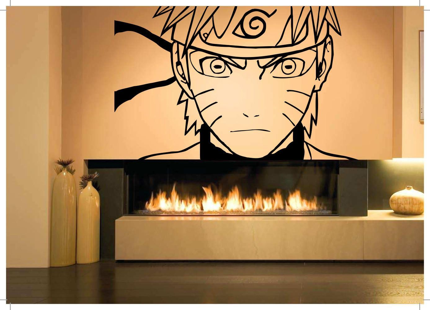 Wall Room Decor Art Vinyl Sticker Mural Decal Naruto Cartoon Manga ...