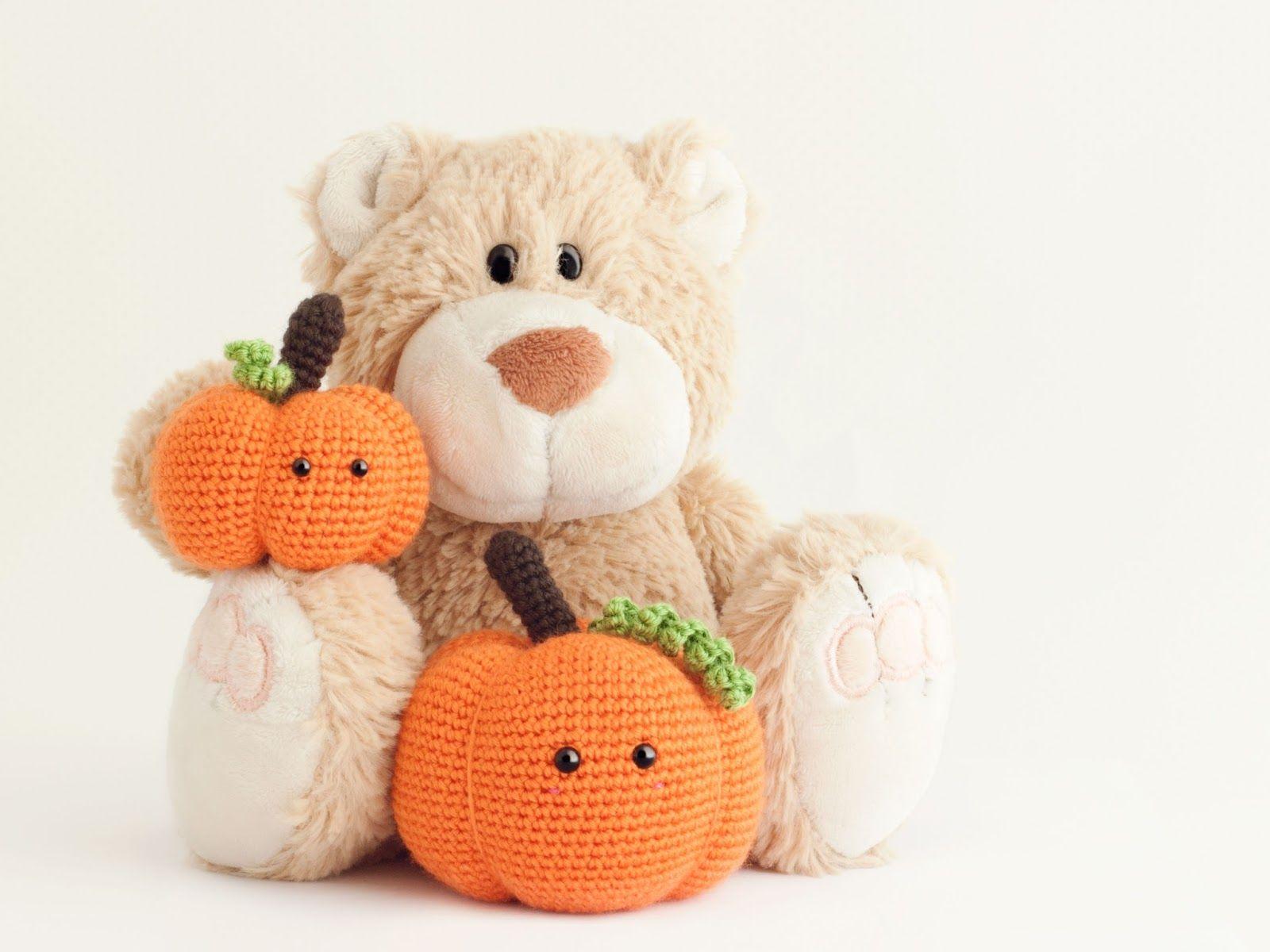 Amigurumi calabaza (patrón gratis) Pumpkin (free pattern ...