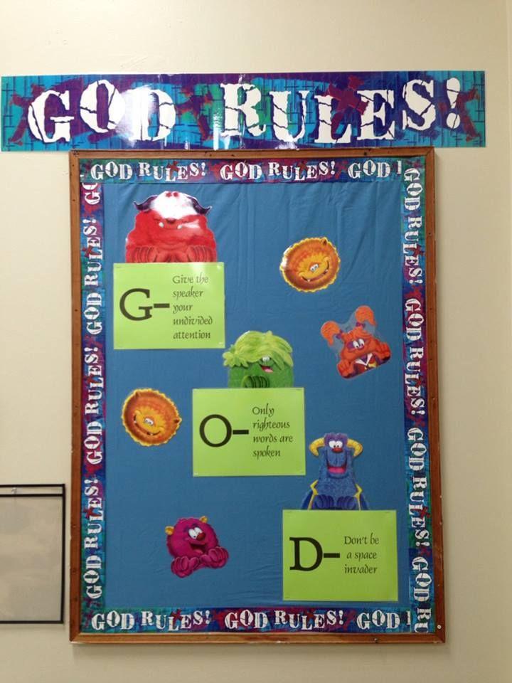 classroom rules | school stuff | Christian classroom ... - photo#41