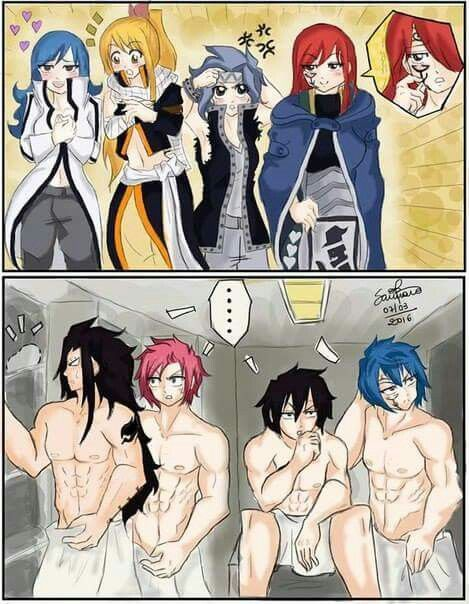 naked girls Fairy tail