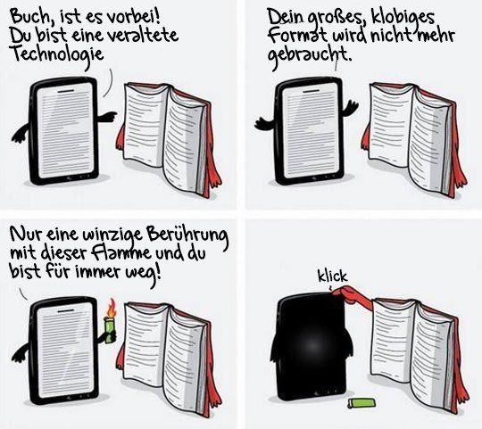 iPad vs Buch | Webfail - Fail Bilder und Fail Videos