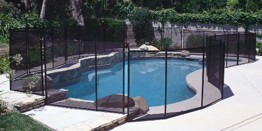 Amazon Com Water Warden In Ground Pool Safety Fence 4 X 12 Section Outdoor Decorative Fences Pat Swimming Pool Safety Pool Safety Fence In Ground Pools