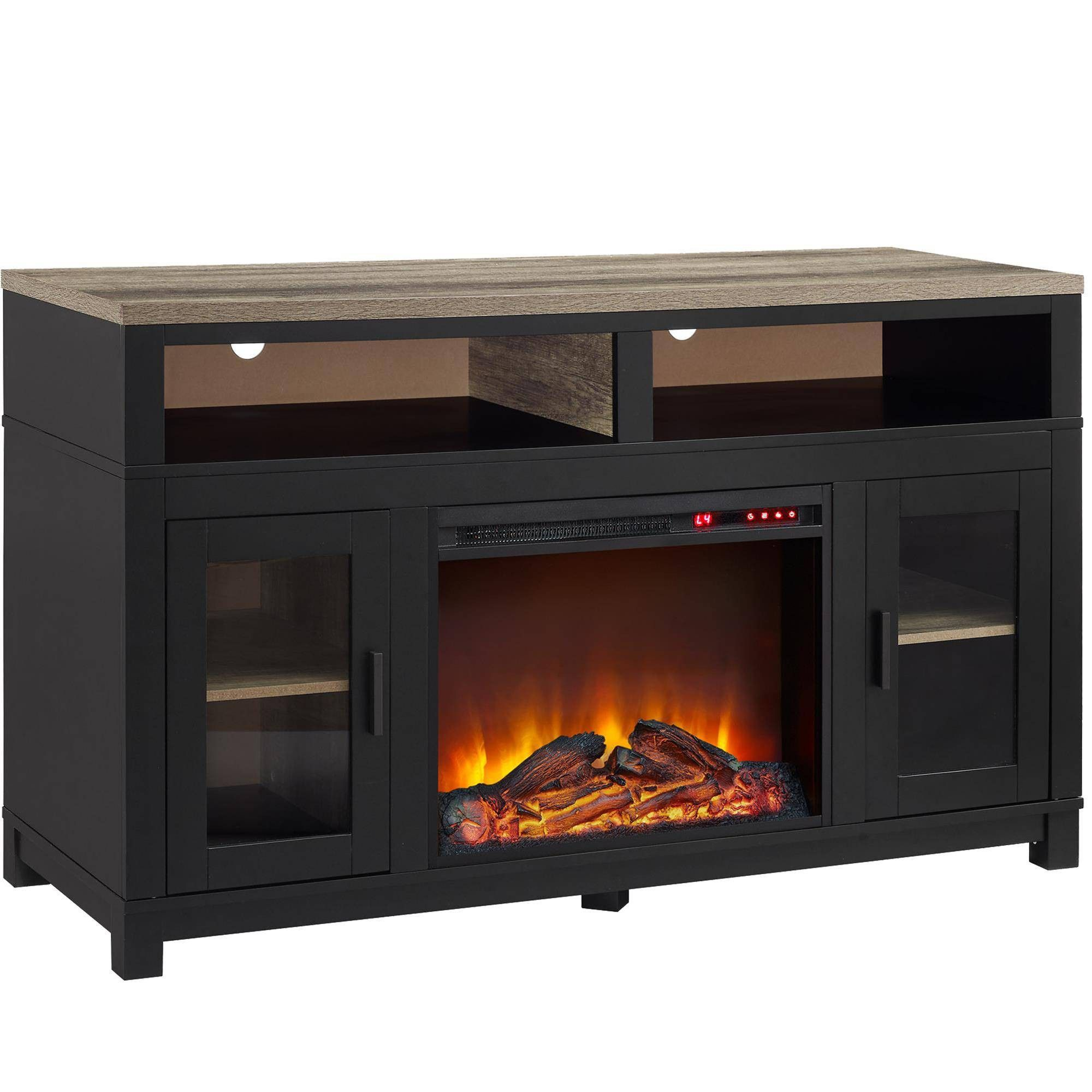 Paramount Electric Fireplace TV Stand for TVs up to 60