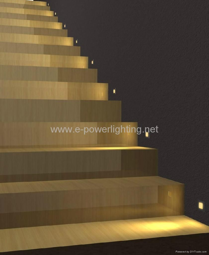 Lighting On Stairs: Stair Lights - Google Search