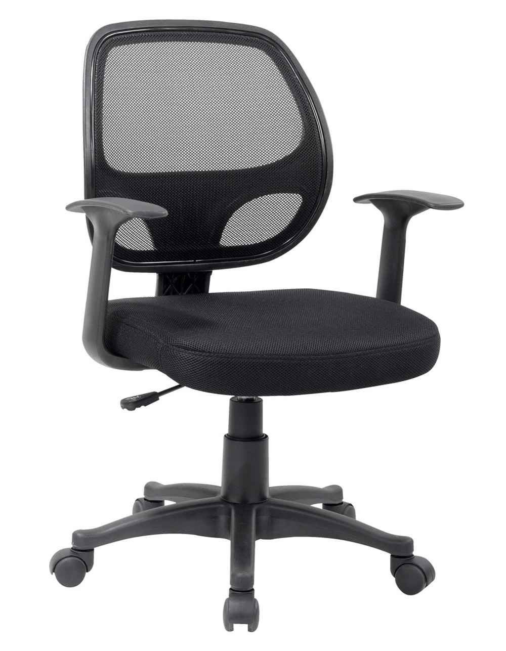 Ergonomic Black Mesh Computer Chair With Arms Office Chair Chair Mesh Chair