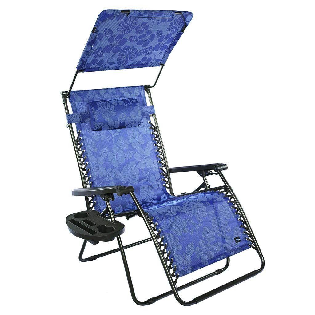 Gravity Free Recliner Chair w/ Canopy & Tray: Bliss Hammocks