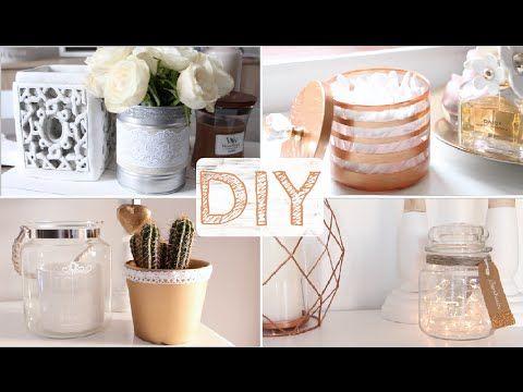 ♡ Diy - 4 Objets Déco (Cuivre & Dentelle) | Diy Divers & Idees