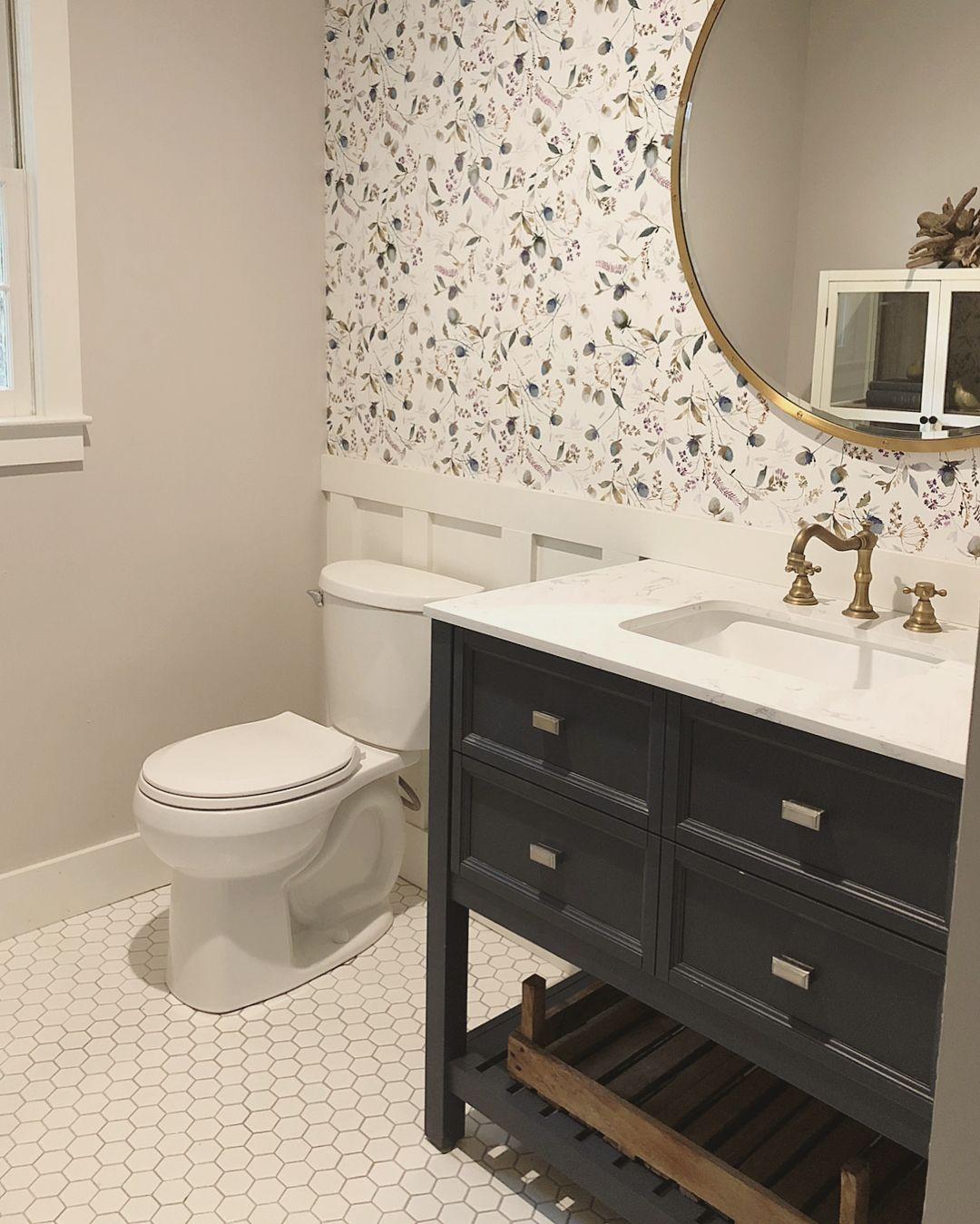 Pin On Lr Half Bath Half bedroom wall tiles