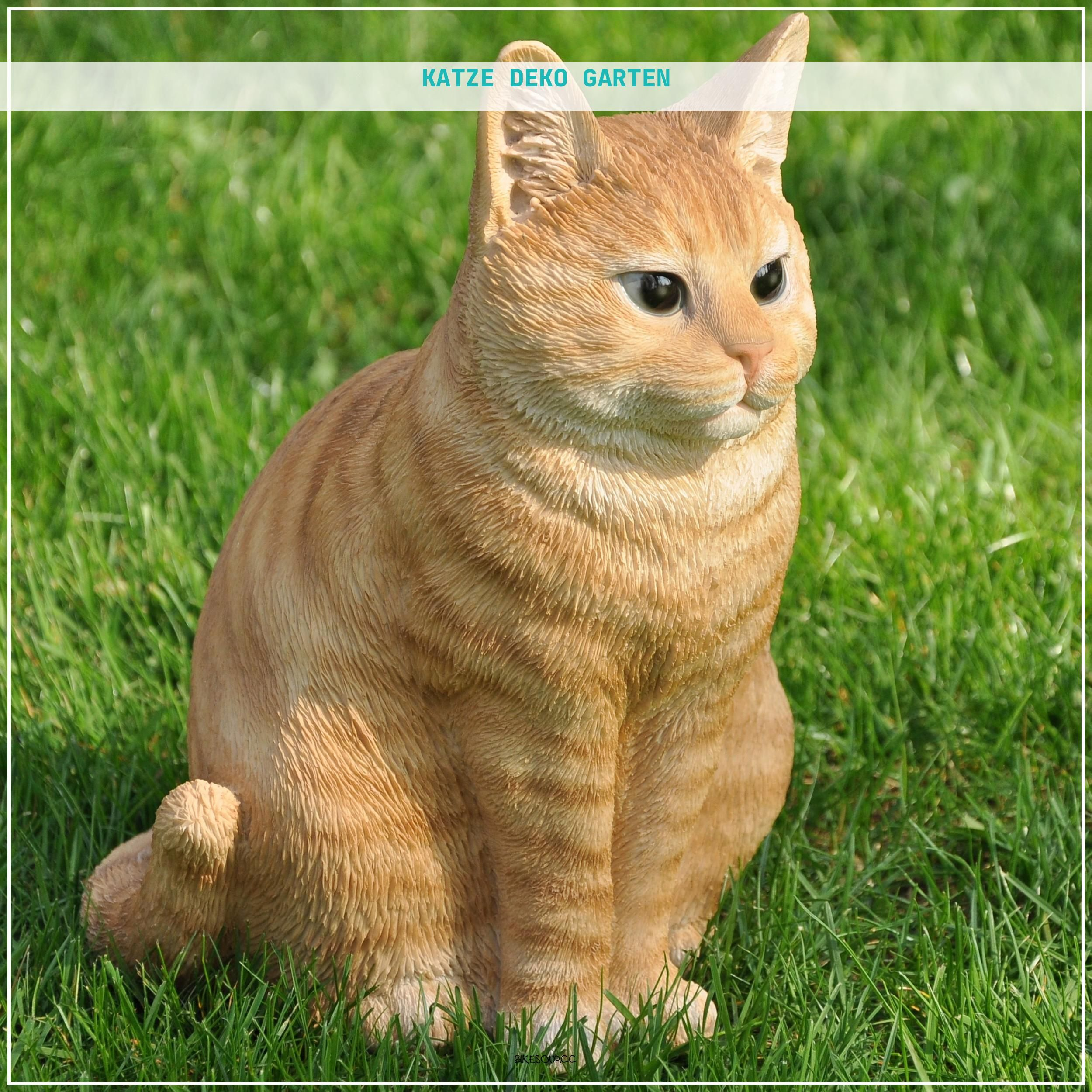 38 Schon Katze Deko Garten 38 Schon Katze Deko Garten Gartenfiguren Deko Katze Katzen