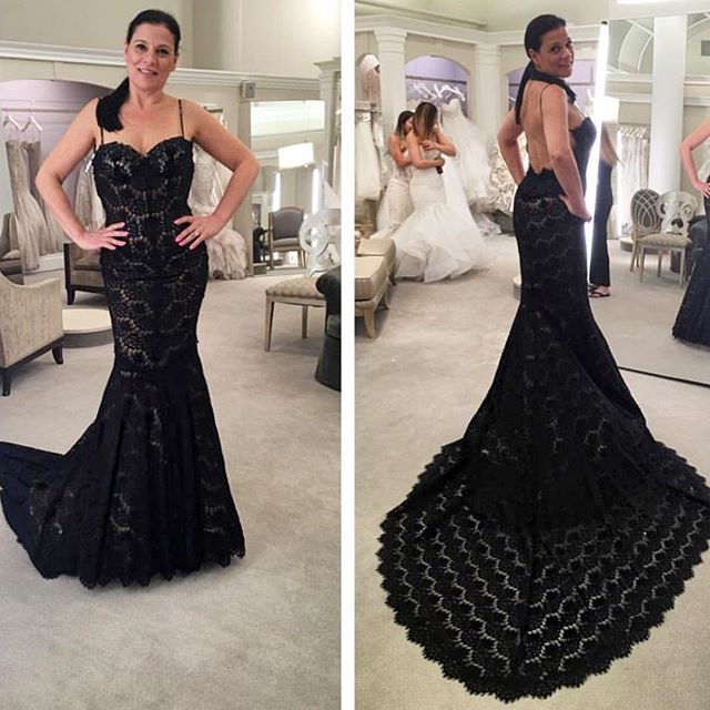 How stunning does our @kleinfeldbridal consultant @adimaggio41 look ...