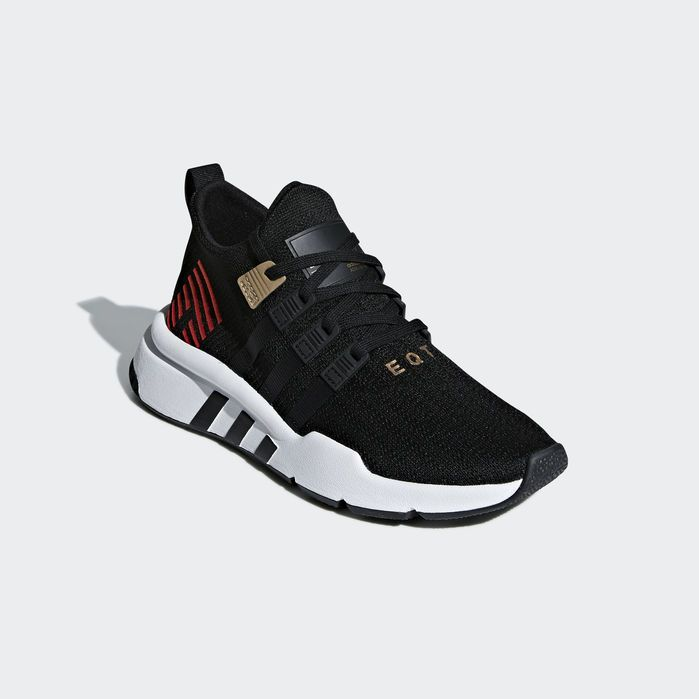 reputable site d5e86 b910e EQT Support ADV Mid Shoes | Products in 2019 | Black adidas ...